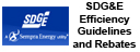 SDG&E Efficiency Guidelines and Rebates